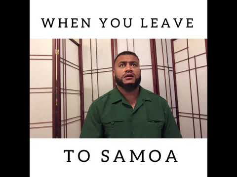 First timers in Samoa be like