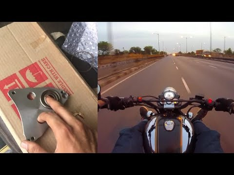 Carberry Vibration Reduction Plate for Royal Enfield | Highway test