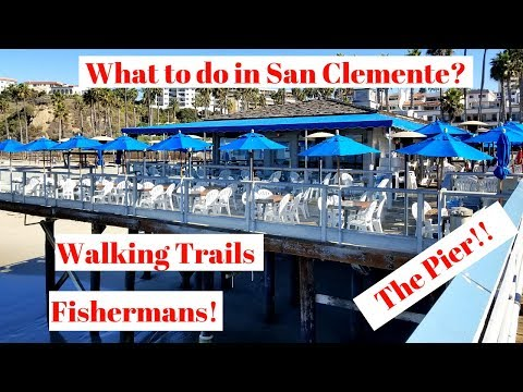 Things To Do At San Clemente Pier