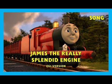 James the Really Splendid Engine - CGI Version - HD
