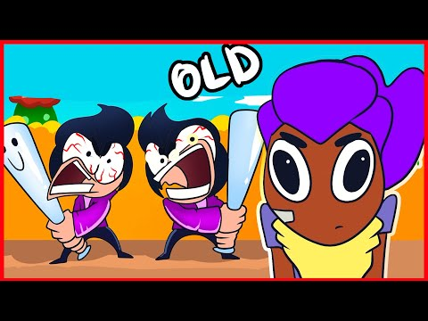 BRAWL STARS ANIMATION - OLD SHELLY IN NEW TIMES