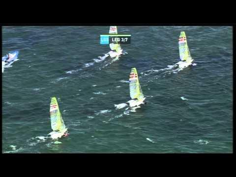 Perth 2011 ISAF Sailing World Championships - 49er Medal Race - 18-12-11