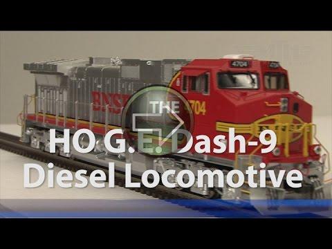 MTH HO Dash 9 Diesel Spotlight