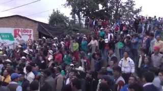 Así se vivió el triunfo del MAS en el distrito de Tongod, provincia de San Miguel.05-07-15