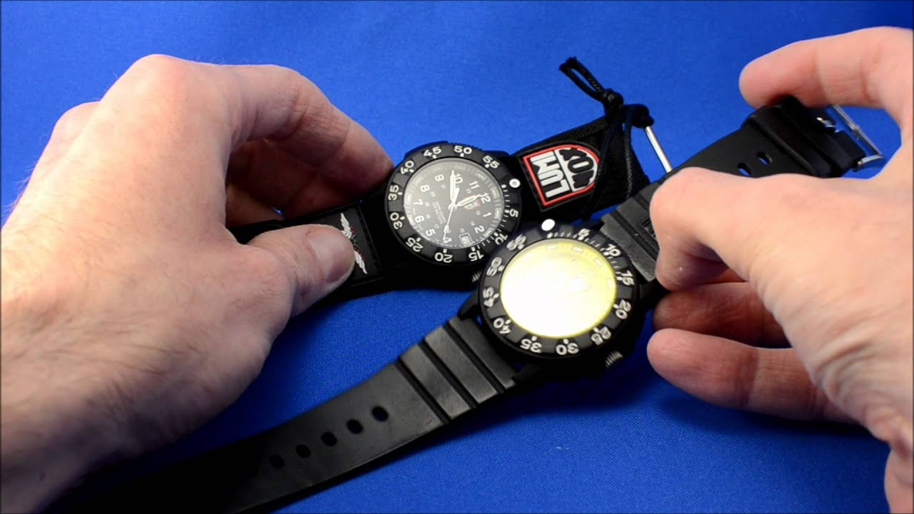 Luminox navy seal ii dive watch youtube - Luminox navy seal dive watch ...