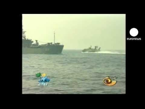 Iranian warships head through Suez canal