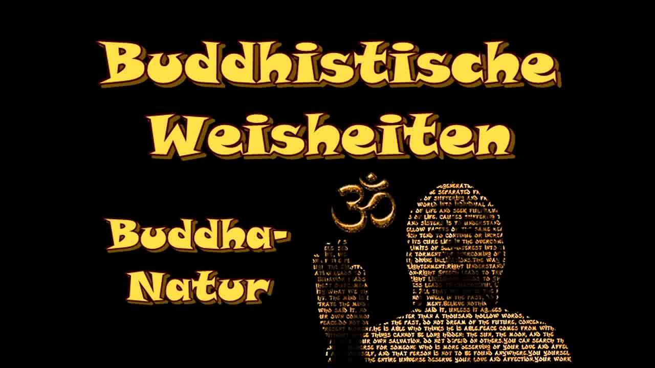 buddhistische weisheiten buddha natur youtube. Black Bedroom Furniture Sets. Home Design Ideas