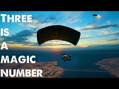 Player Unknowns Battlegrounds - Three is the magic number