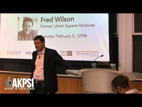 """Fred Wilson - """"On Being A Contrarian"""" (2/7)"""