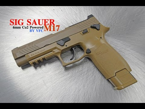 SIG SAUER PROFORCE P320-M17 Co2 Powered | Shogun Store  Airsoft Unboxing