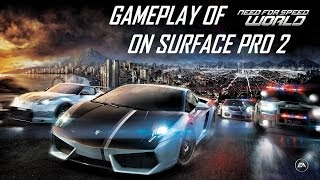 Need For Speed: World Gameplay on Microsoft Surface Pro 2 (Full HD 1080p)