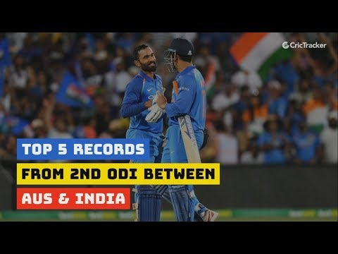 Australia Vs India | 5 Records Created During The Second ODI At Adelaide Oval