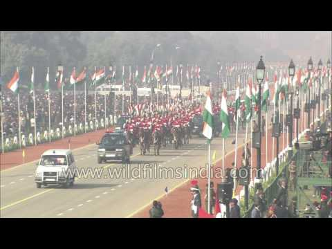 Republic Day parade : complete ceremony of 2004, with President Kalam