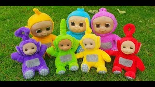 Learn Colors with Baby Teletubbies Toys For Kids