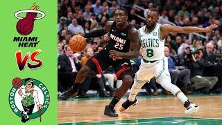Miami Heat vs Boston Celtics - Highlights 2nd Qtr | Game 1 Eastern finals | NBA Playoffs