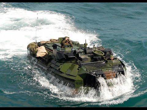 U.S. Marines with Amphibious Assault Vehicle Platoon, Company B