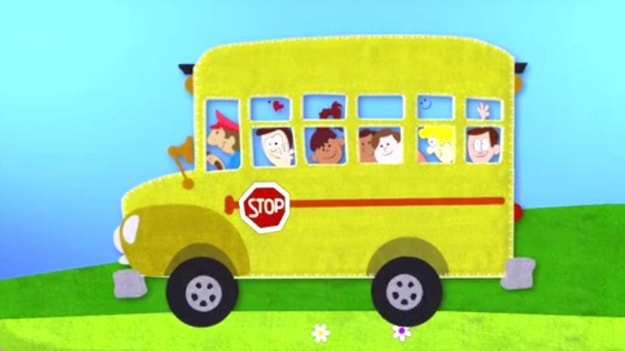 Mal Einen Schulbus Trickfilm Für Kleinkinder смотреть