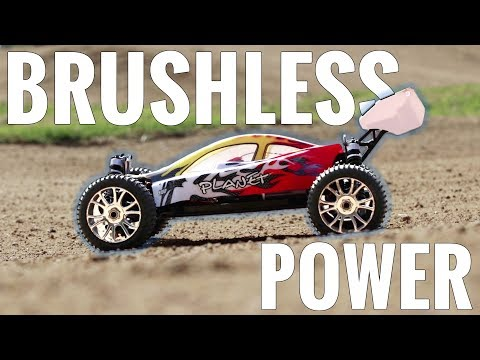 HSP 1/8 Planet Brushless Buggy