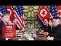 Встреча Трампа и Ким Чен Ына закончилась безрезультатно: Ким хотел слишком много