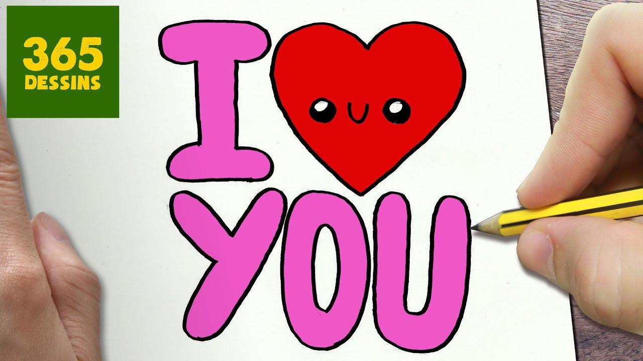 Comment dessiner i love you fille kawaii tape par tape - Beau maquillage facile a faire ...