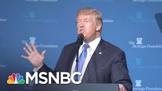 Flattery Will Get You Everywhere With President Donald Trump | All In | MSNBC