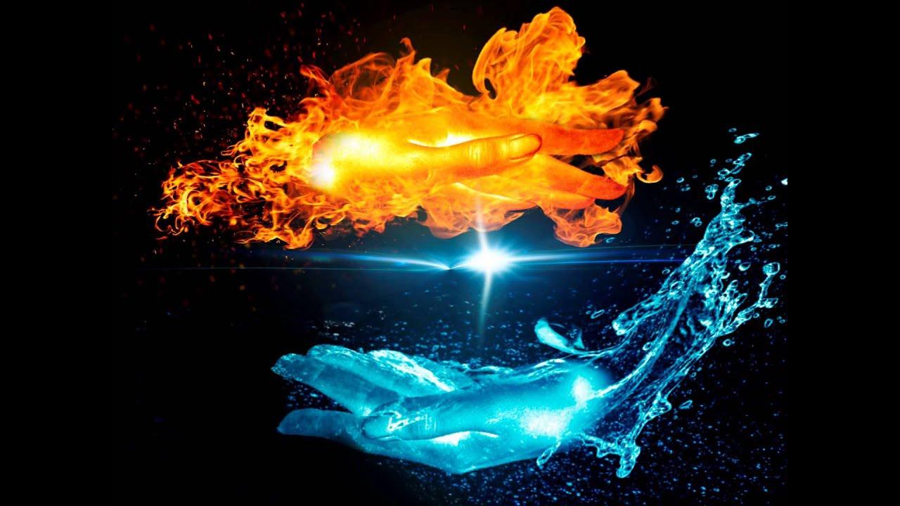огонь вода лед картинки
