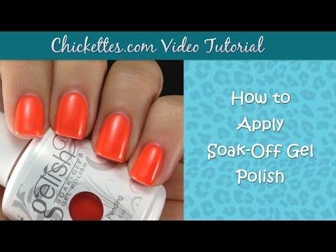 How to Apply Soak Off Gel Polish