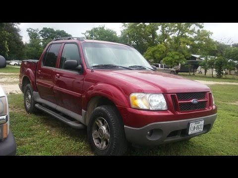 2003 ford explorer sport trac xlt review youtube. Black Bedroom Furniture Sets. Home Design Ideas