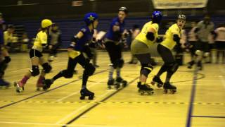 ARRG Home Teams 2012: Leithal Weapons v The Skatefast Club : Jam 11 Period 1