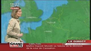 Les Prévisions Météo du 10 novembre 2011 (Lille)
