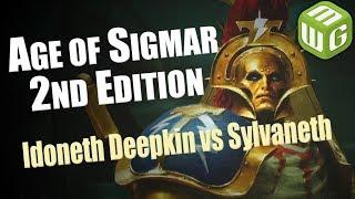 Idoneth Deepkin vs Sylvaneth Age of Sigmar Battle Report