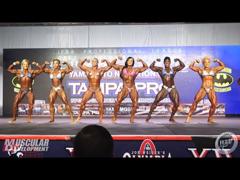 Women's Bodybuilding Comparisons/Posedown/Awards | 2019 Tampa Pro