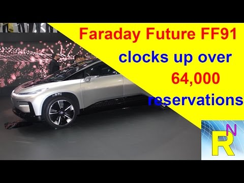 Car Review - Faraday Future FF91 Clocks Up Over 64,000 Reservations - Read Newspaper Tv
