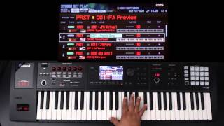 Roland FA-06/08 - Advanced Layers and Splits 02 - Part 1