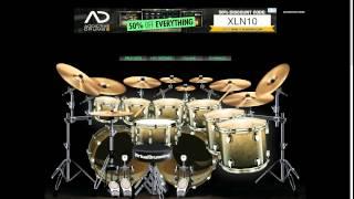 Avenged Sevenfold Fiction- Vitrual drums cover (read description)