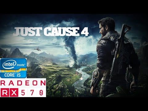 Just Cause 4 On Core i5+Rx 570 [1080p 60fps] |