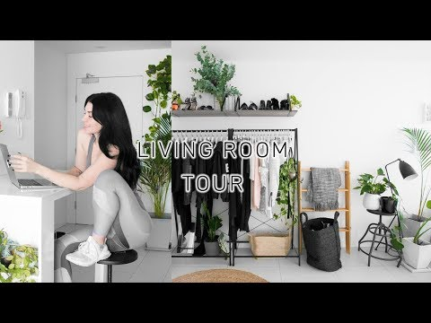 LIVING ROOM / LOUNGE TOUR (+ heaps of plants)