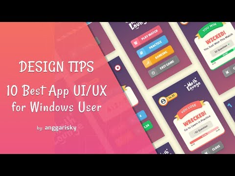 10 Best App UI/UX Design For Windows