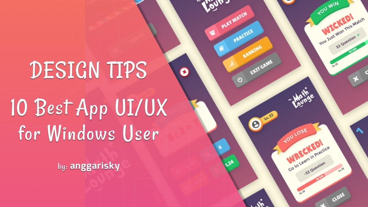 10 best app ui ux design for windows youtube