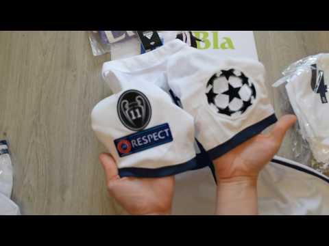 Футбольная форма Real Madrid 16/17 от магазина Panda Football