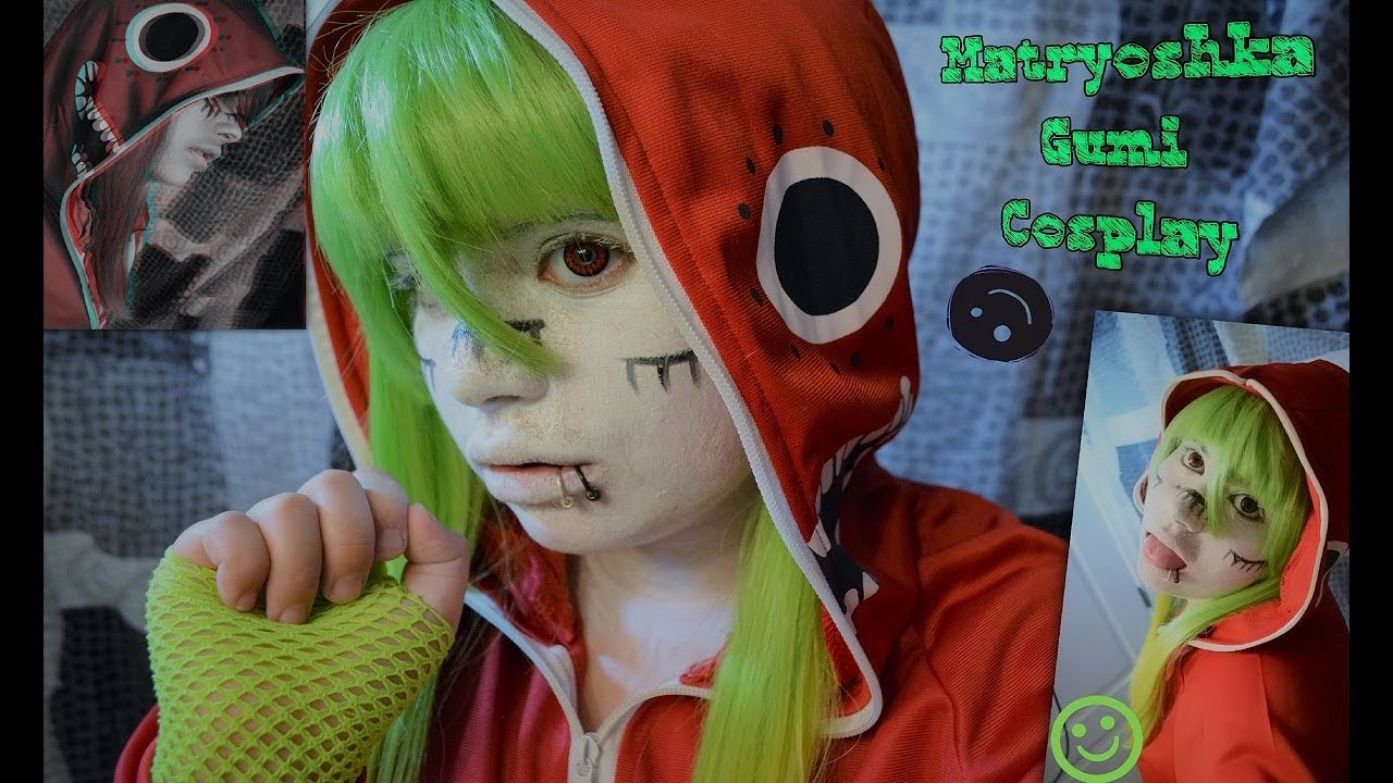 Matryoshka Vocaloid Gumi Cosplay Tutorial Youtube