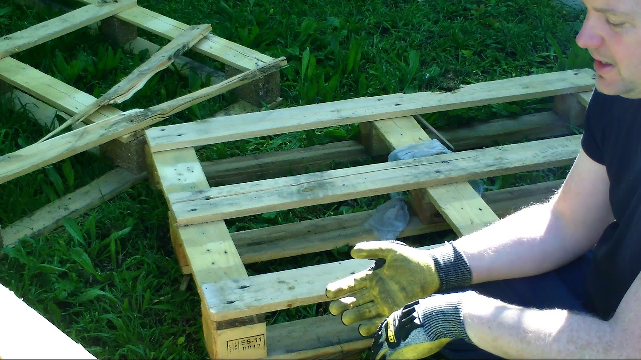 How To Take Apart Wood Pallets