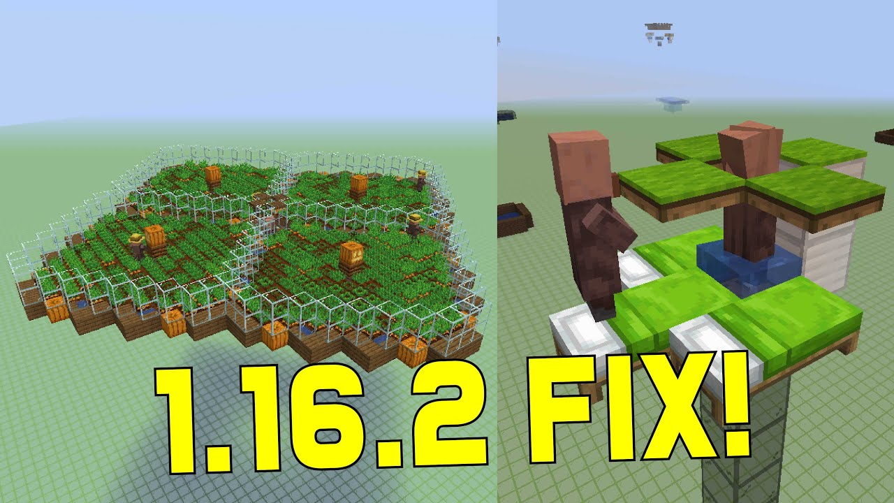 FIX Your 8.86.8 VILLAGER BREEDER and IRON FARM! Prevent villagers from path  finding to beds in farms
