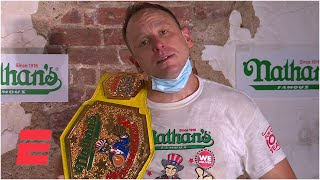 Joey Chestnut sets world record downing 75 hot dogs in Nathan's Hot Dog Eating Contest | ESPN