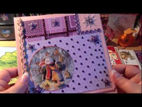 1 craft update weihnachtliche gru karten youtube. Black Bedroom Furniture Sets. Home Design Ideas