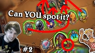 Can YOU spot it? | Hearthstone Lethal Puzzles #2