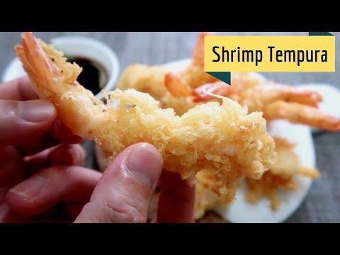 How To: Shrimp Tempura (Tokyo Style!)
