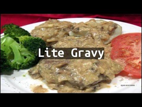 Recipe Lite Gravy