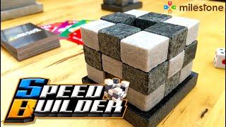 【ボードゲーム】SPEEDBUILDER PV【石】【STONE】【GAME】