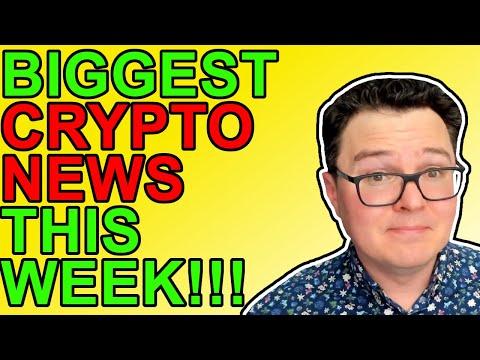 Biggest Crypto News This Week! [Ethereum, NFTs, Shiba Inu, Bitcoin]